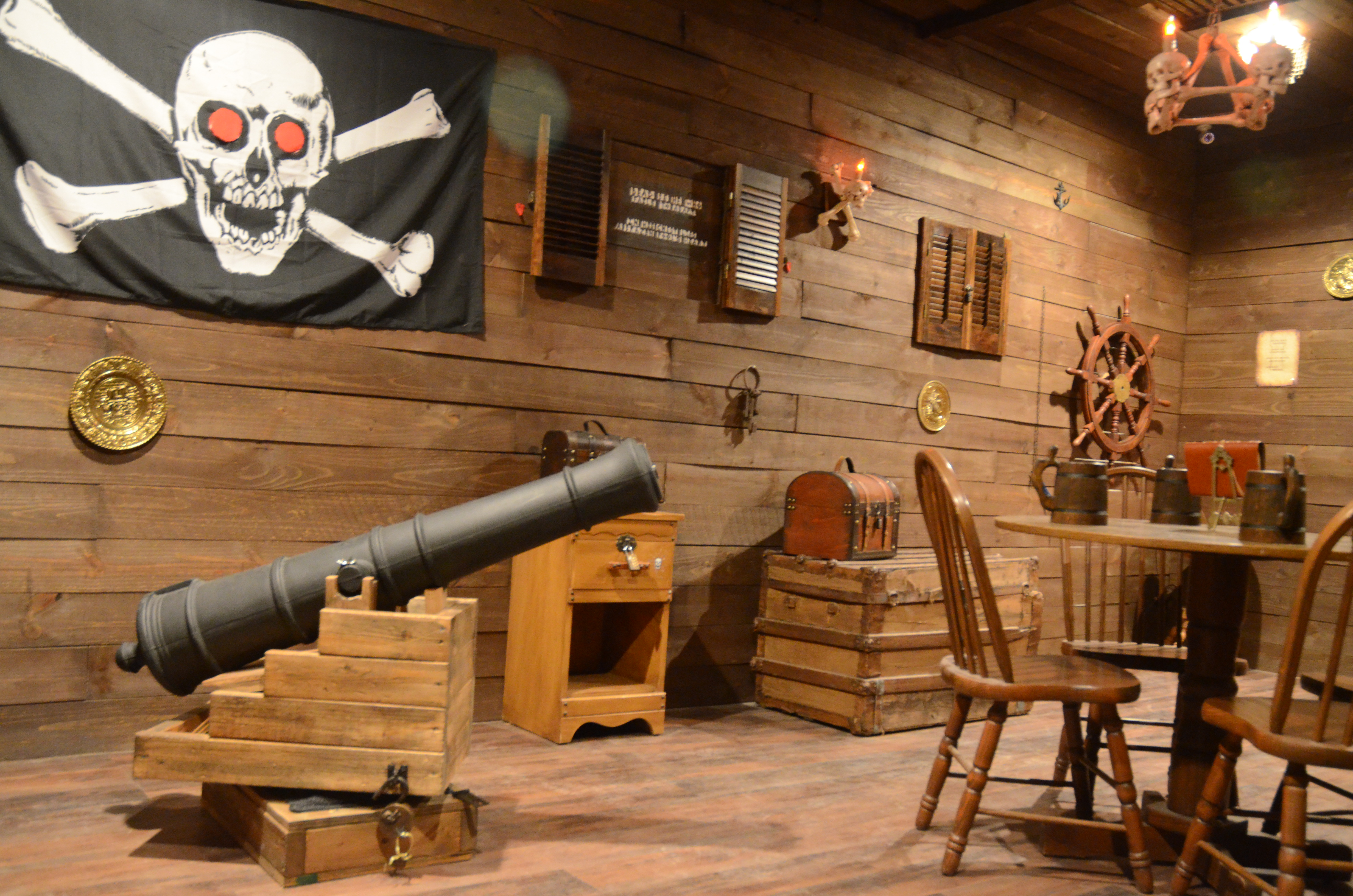 Gallery cannons direct for Secret escape games